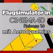 aerodynamics in CINEMA 4D R14 Studio