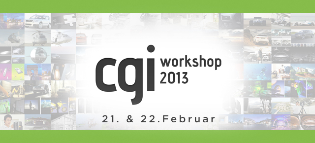 CGI Workshop von photo4d