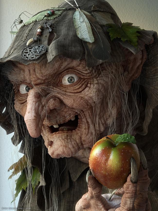 3d-3dsmax-mentalray-mudbox-photoshop-evil-witch-sven-geruschkat