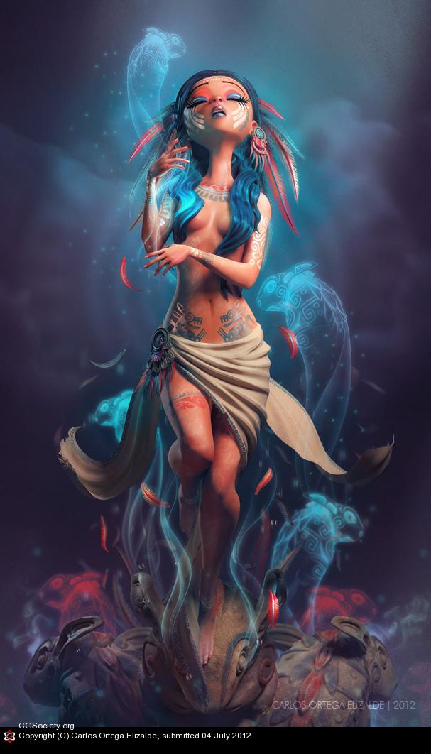 3d-maya-mental-ray-mudbox-the-weeping-woman-carlos-ortega-elizalde