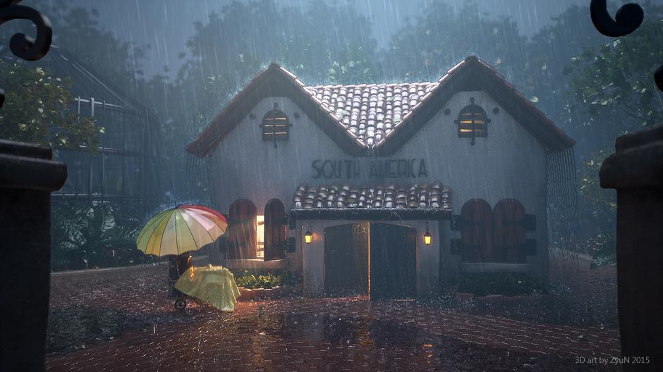 3d-maya-photoshop-nuke-realflow-maxwellrender-rainy-day-yun-zhao