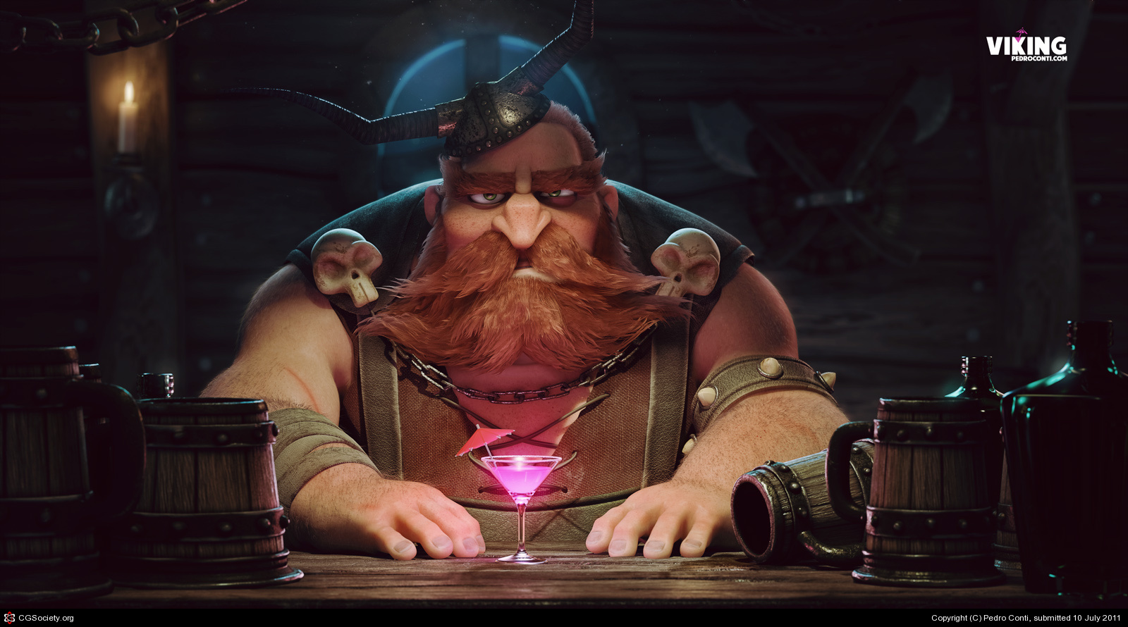3d-3dmax-zbrush-vray-mental_ray-photoshop-after_effects-viking-Pedro-Conti