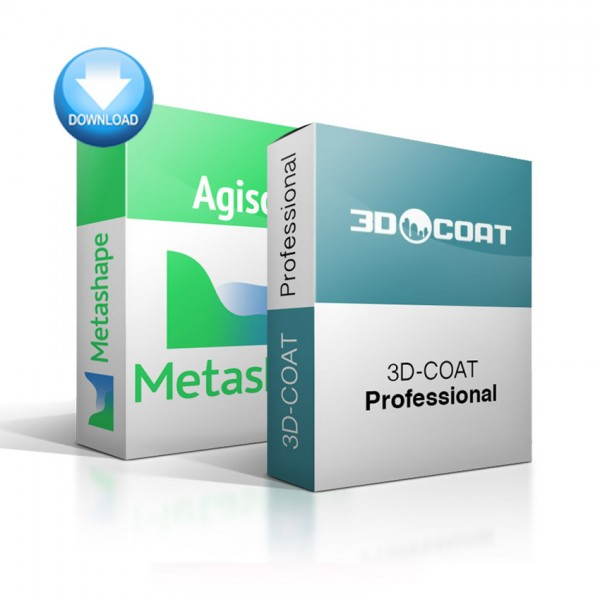 Metashape Standard + 3D-Coat Bundle – EDUCATION