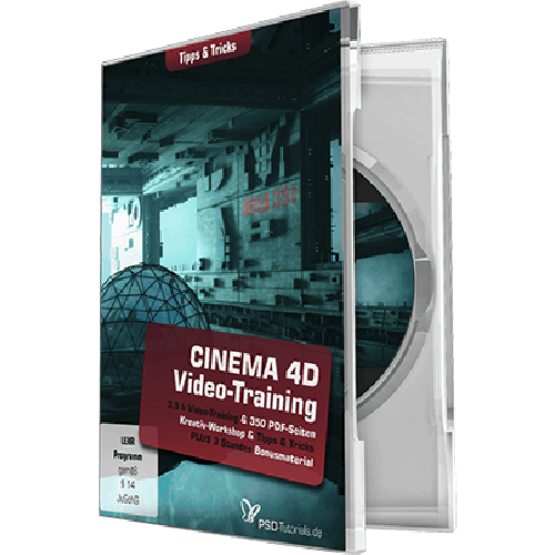 CINEMA 4D-Video-Training – Tipps & Tricks