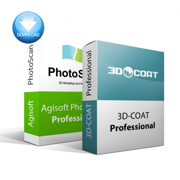 PhotoScan Professional + 3D-Coat Bundle
