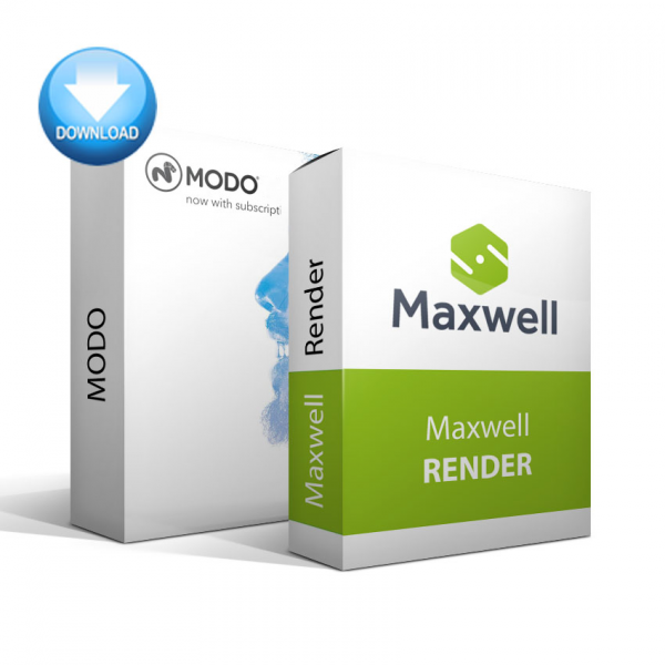MODO + Maxwell Render Bundle