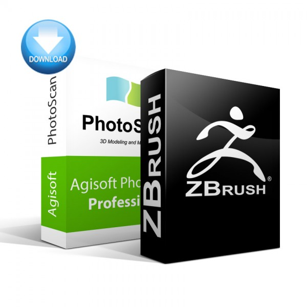 PhotoScan Professional + ZBrush Bundle