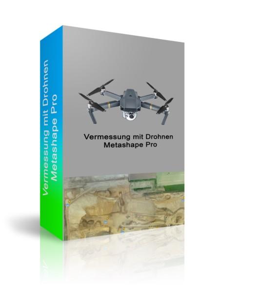 Vermessung mit Drohnen und Metashape Pro