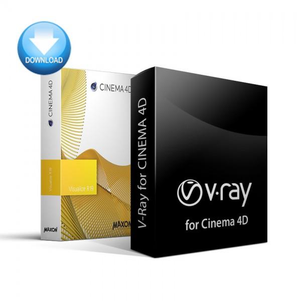 CINEMA 4D Visualize + V-Ray for C4D Bundle