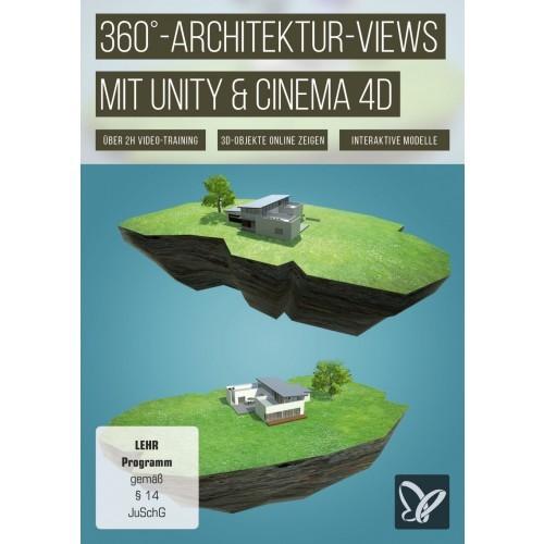 360°-Architektur-Views mit Unity und Cinema 4D