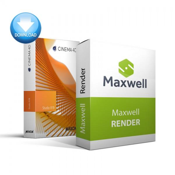 CINEMA 4D Studio + Maxwell Render Bundle