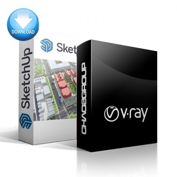 SketchUp + V-Ray for SketchUp Bundle - EDUCATION