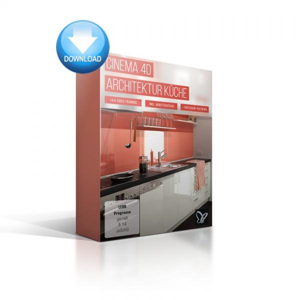 C4D-Video-Training- Architektur Küche
