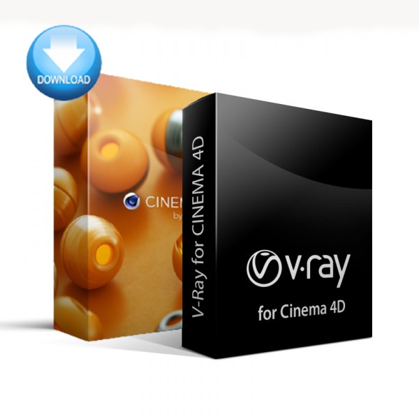CINEMA 4D Studio + V-Ray for C4D Bundle