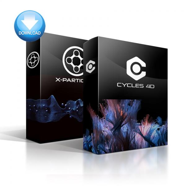 X-Particles + Cycles 4D Bundle