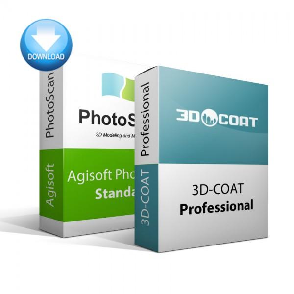 PhotoScan Standard + 3D-Coat Bundle