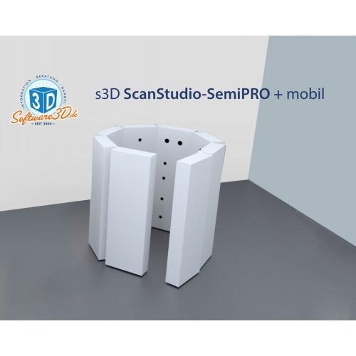 3D-Scan-Studio SemiPRO mobil