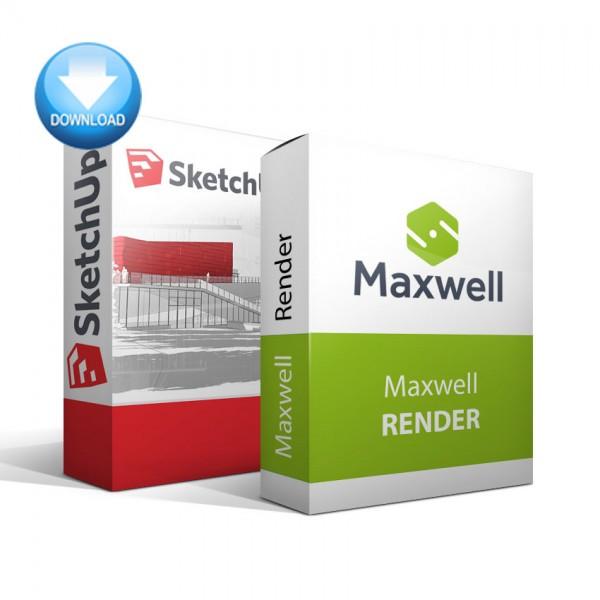 SketchUp + Maxwell Render Bundle