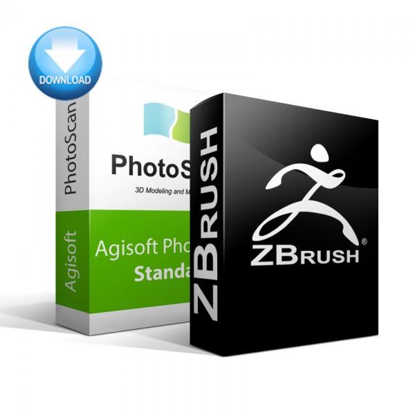 PhotoScan Standard + ZBrush Bundle