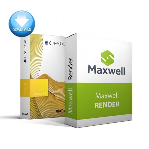 CINEMA 4D Visualize + Maxwell Render Bundle