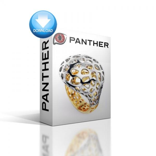 Panther 3D Jewellery für Rhino