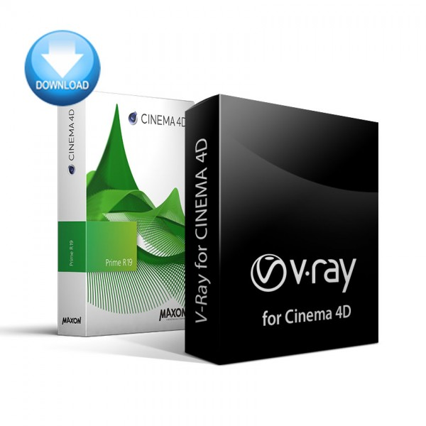 CINEMA 4D Prime + V-Ray for C4D Bundle