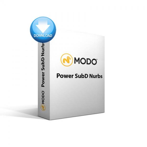 MODO - Power SubD-NURBS