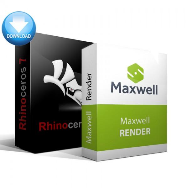Rhinoceros 3D + Maxwell Render Bundle