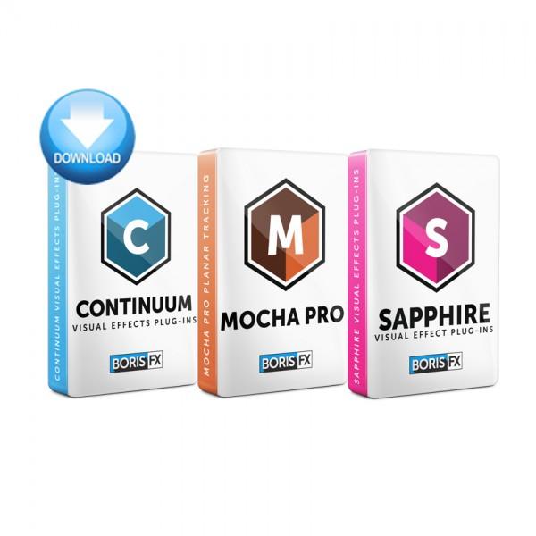 Sapphire + Continuum + Mocha Pro Bundle