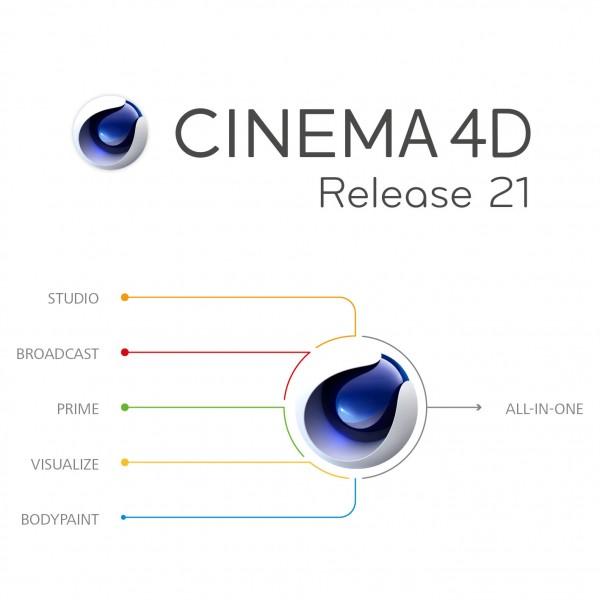 CINEMA 4D R21 Studio