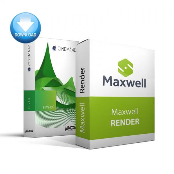 CINEMA 4D Prime + Maxwell Render Bundle