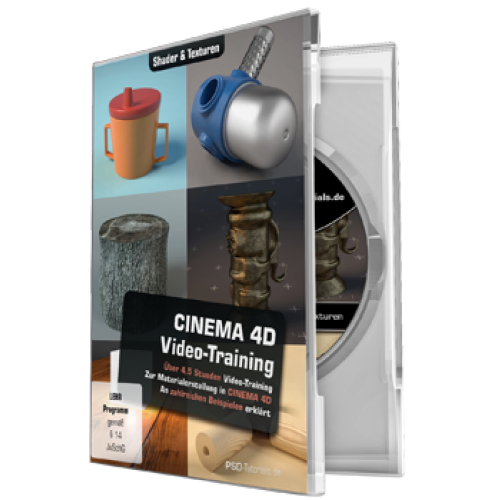 C4D-Video-Training - Shader & Texturen