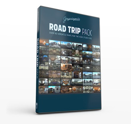 HDRI Expansion Pack Road Trip