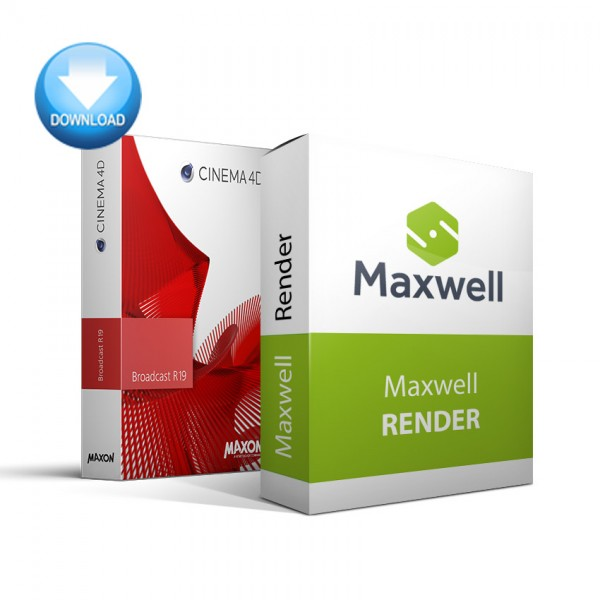 CINEMA 4D Broadcast + Maxwell Render Bundle