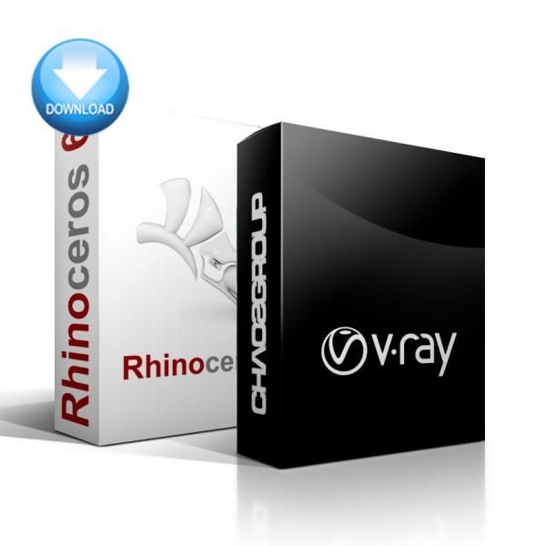 Rhinoceros 3D + V-Ray for Rhino Bundle