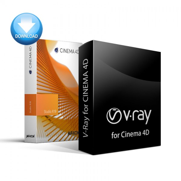 CINEMA 4D + V-Ray for C4D Bundle - EDUCATION