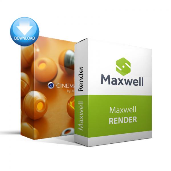 CINEMA 4D + Maxwell Render Bundle