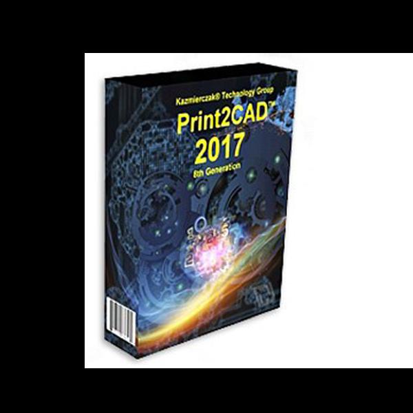 Print2CAD 2017