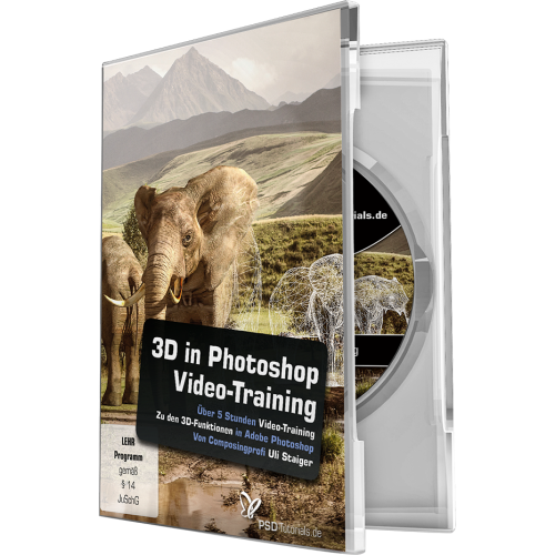 3D in Photoshop – Video-Training