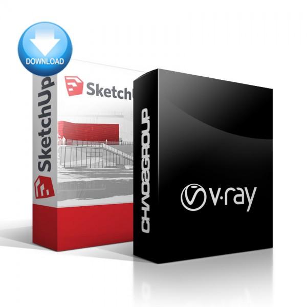 SketchUp + V-Ray for SketchUp Bundle