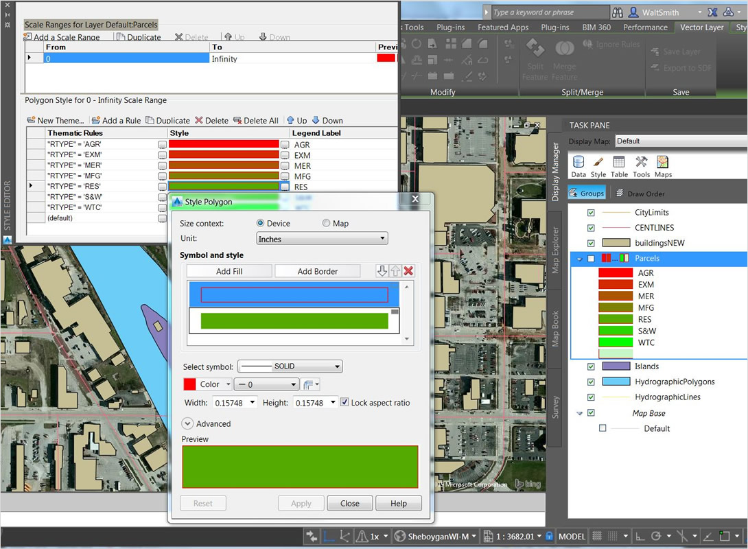 AutoCAD Map 3D 2020 | CAD / Nurbs Modeling | CAD & 3D ... on