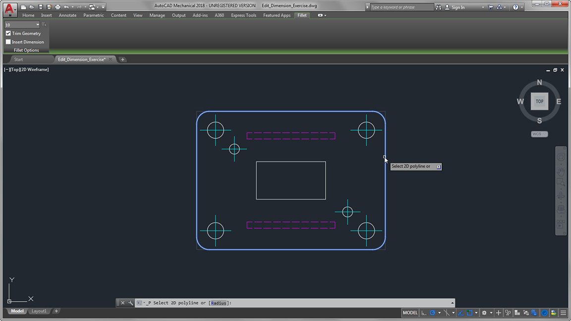autodesk auto cad mechanical command preview contextual menus large