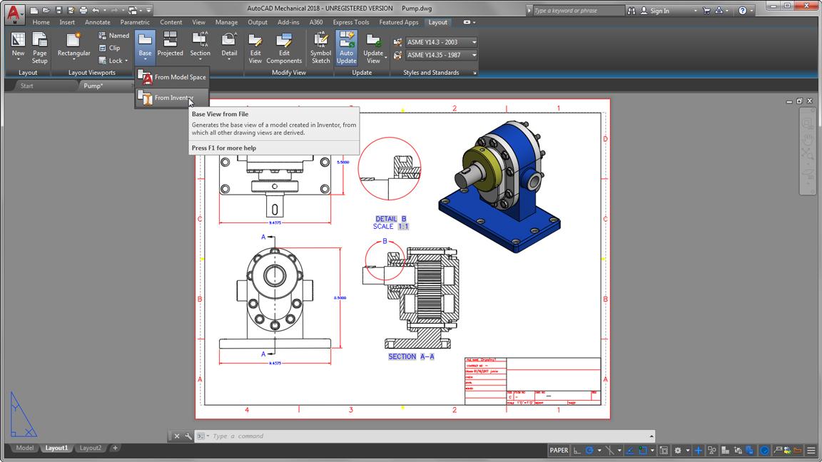 autodesk auto cad mechanical document d cad models large