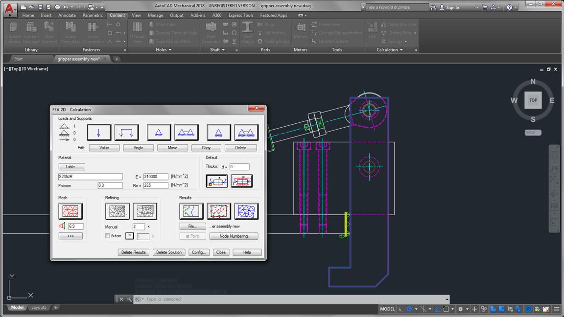 autodesk auto cad mechanical machinery generators calculators large