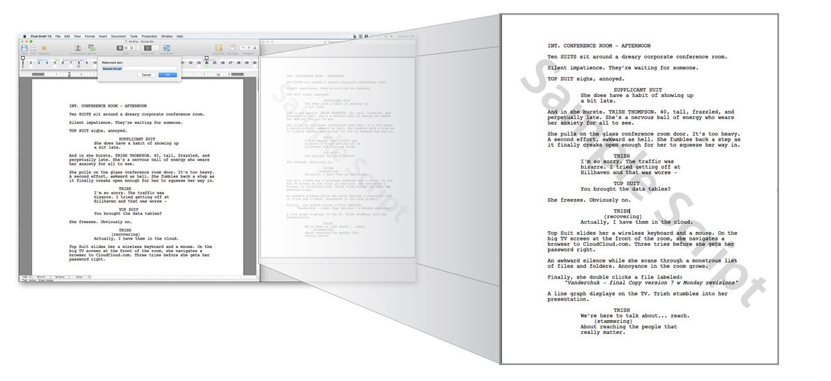 Final Draft 10   Storyboarding / Drehbuch   CAD & 3D Software ...