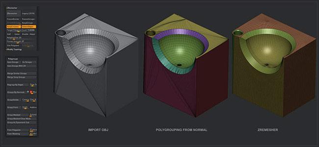 Pixologic ZBrush - Features | Produktbeschreibungen für