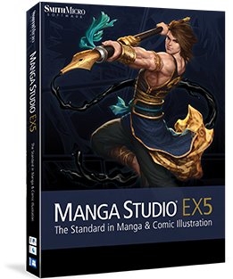 Manga-Studio-EX5-software3D